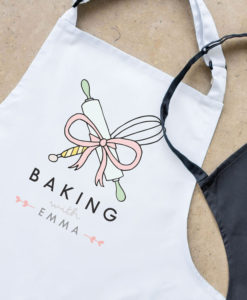 1 1 247x300 - Personalised baking with adult apron, Personalised apron, Mother's day gift