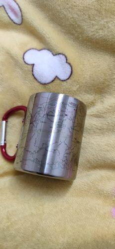 Appalachian Trail Map/Smoky Mountains Carabiner Coffee Mug Trail Map, Hiking Trekking Backpacker Gifts photo review