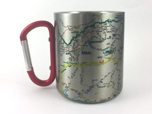 il fullxfull.2430077560 s3bq 510x383 - Appalachian Trail Map/Smoky Mountains Carabiner Coffee Mug Trail Map, Hiking Trekking Backpacker Gifts