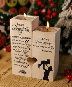 il fullxfull.2701836499 blwa 247x300 - From MOM To Daughter Pair Candle Holder Gift Mom To Daughter For 2021 Birthday Xmas Aromatheraphy Wedding School College Uni Graduation Gift