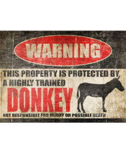 Design Rust 1 247x300 - Donkey Sign Barn Sign Mule Sign Donkey Decor Donkey Warning Sign Funny Metal Farm Sign