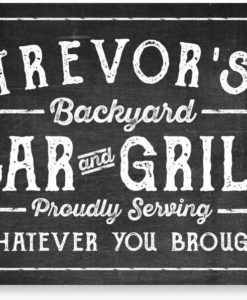 il fullxfull.2056951980 nocf 247x300 - Personalized Chalkboard Look Bar & Grill Metal Sign - Welcome Sign - Custom Sign - Metal Wall Art