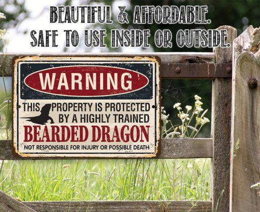 il fullxfull.2324013523 58q2 510x415 - Metal Sign - Property Protected by Chickens - Use Indoor/Outdoor - Great Home and Farmhouse Décor