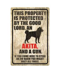 Akita Warning Dog Sign Wood 247x300 - Akita Dog Sign Dog Warning Sign Dog Sign Warning Sign Akita Gift Sign Gun Sign 2nd Amendment Sign NRA Sign Firearm