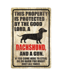 Dachshund Warning Dog Sign Distressed Wood 247x300 - Homepage