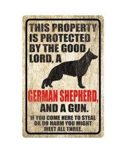German Shepherd Warning Dog Sign Distressed Wood 247x300 - Homepage