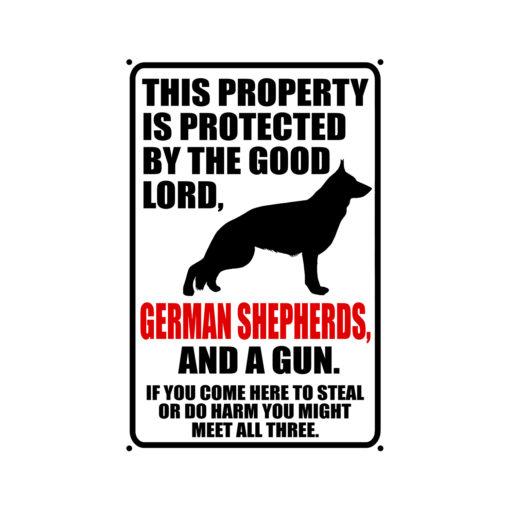 German Shepherds Warning Dog Sign New 510x510 - German Shepherd Dog Sign Dog Warning Sign Dog Sign Warning Sign German Shepherd Gift Sign Gun Sign 2nd Amendment Sign NRA Sign Firearm