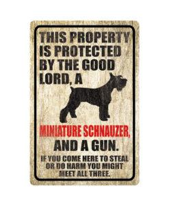 Miniature Schnauzer Warning Dog Sign Distressed Wood 247x300 - Homepage